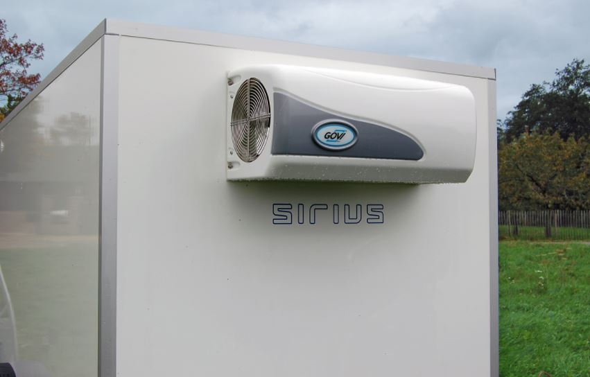 Kühlgerät am Iso Anhänger von Sirius