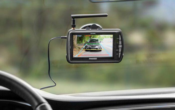 Anhänger Kamera Test